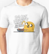 adventure time jake makin bacon pancakes Unisex T-Shirt