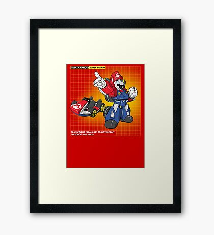 Super Primio Framed Print