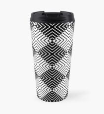 Diamond Stripes Travel Mug