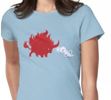 My Little Epic Battle Womens Fitted T-Shirt