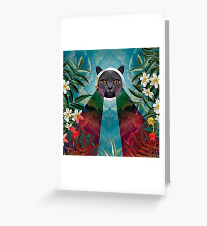Chartreux Greeting Card