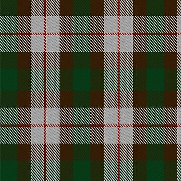MacKinnon Dress Clan/Family Tartan  by Detnecs2013