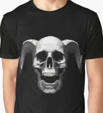 Skull with horns T-Shirt Graphic T-Shirt