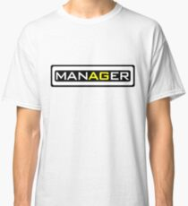 Manager tshirt brazzers edition Classic T-Shirt