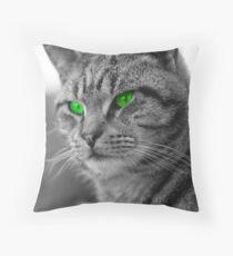 Enviromental Cat Throw Pillow