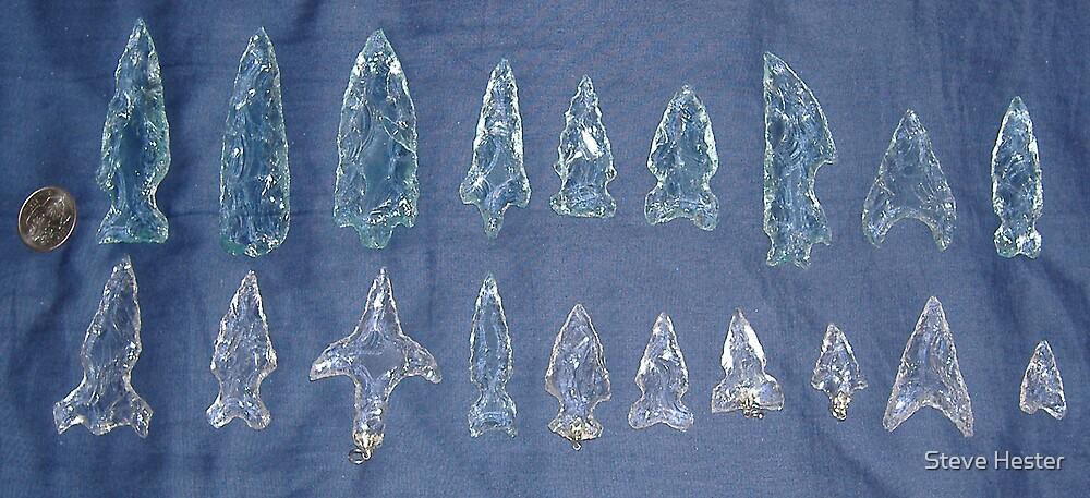 Arrowheads by Steve Hester