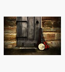The Banjo & The Fiddle Photographic Print