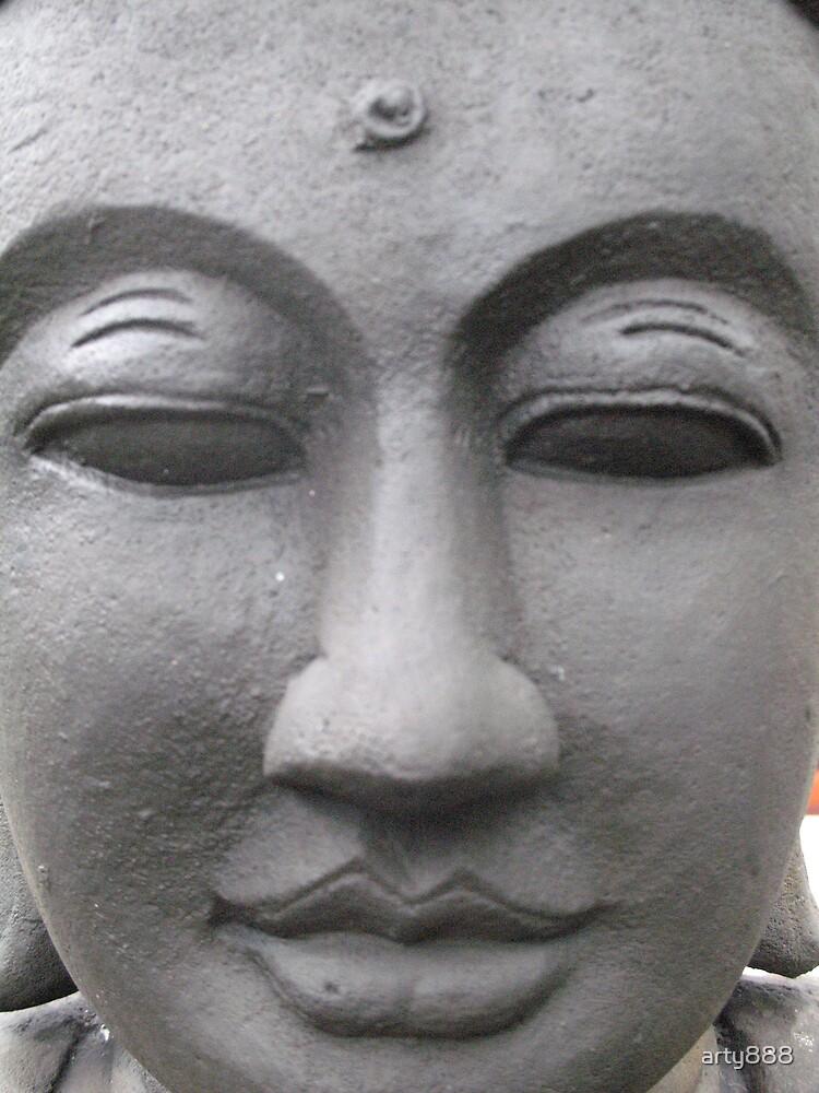 Buddah in my garden by arty888