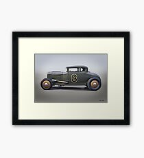 1930 Ford 'Stromberg Equipped' Coupe l Framed Print