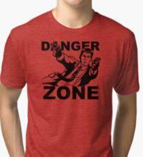 Archer Danger Zone FX TV Funny Cartoon Cotton Blend Tri-blend T-Shirt