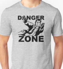 Archer Danger Zone FX TV Funny Cartoon Cotton Blend T-Shirt