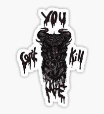 Revolt : Grayscale Sticker