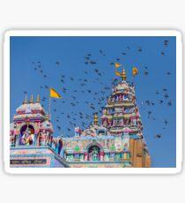 Colorful Hindu Temple India  Sticker
