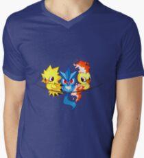 FEAR THE LEGENDS Men's V-Neck T-Shirt