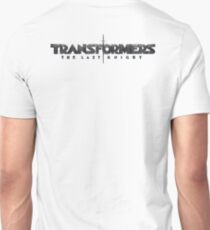 Transformers the last knight back side Unisex T-Shirt