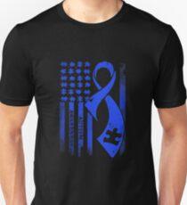 Autism Blue Puzzle Unisex T-Shirt