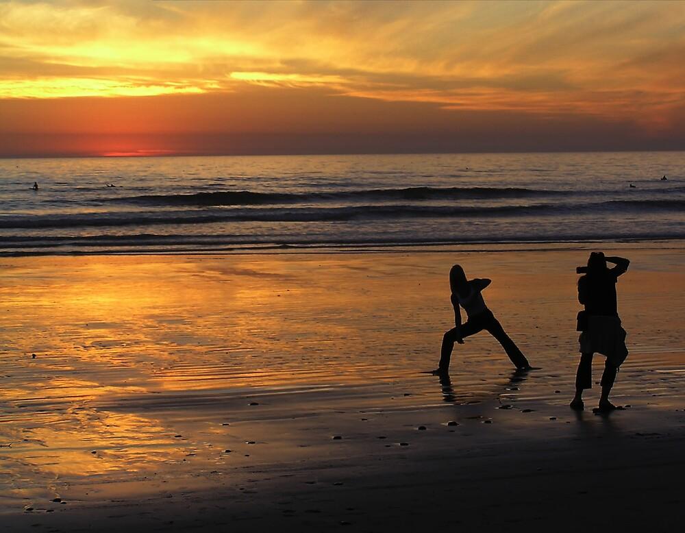 Photo Shoot at Sunset by Chuck Cannova