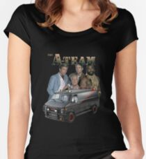 The A Team Women's Fitted Scoop T-Shirt