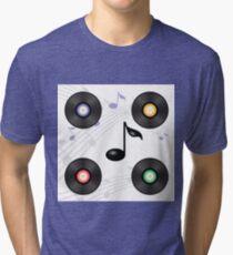 vinyl record Tri-blend T-Shirt