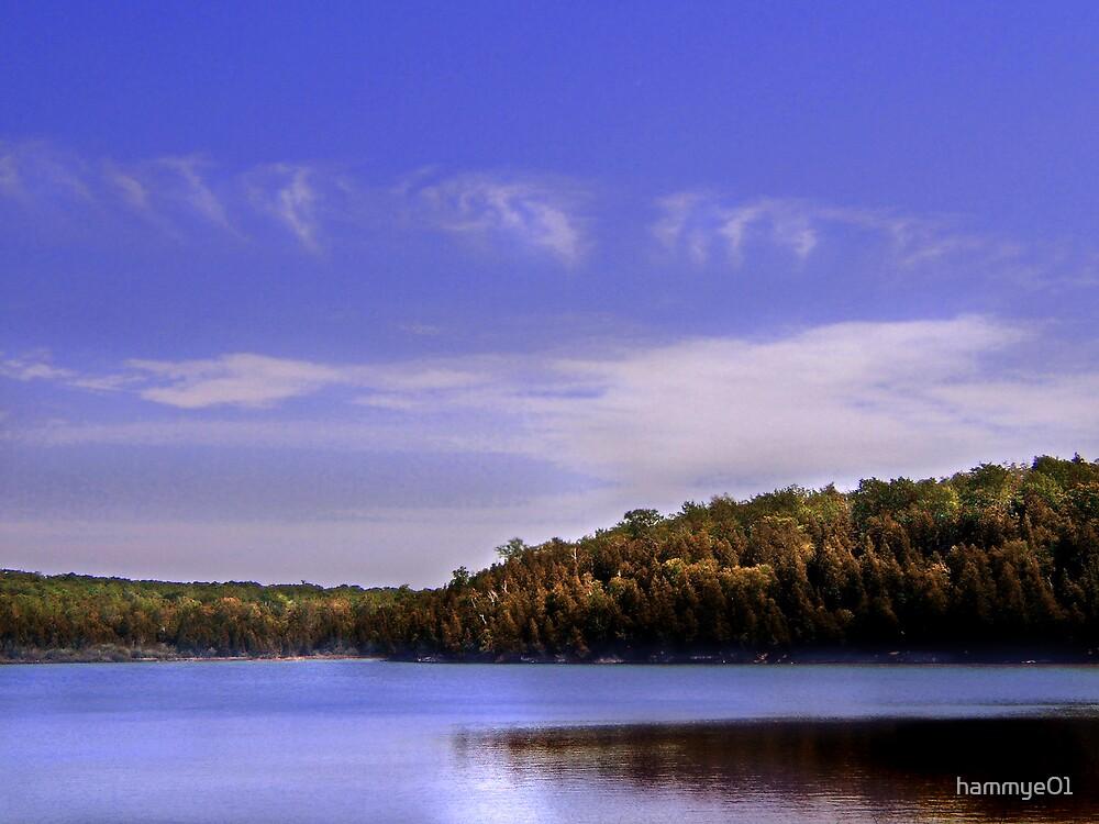Sky Blue Waters by hammye01