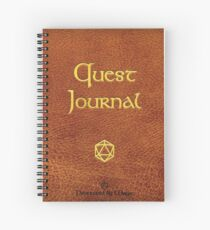 Quest Journal - Notebook Spiral Notebook