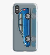 Four Rings RS4 A4 Avant Quattr0 B5 Type 8d Wagon Nogaro Blue iPhone Case/Skin