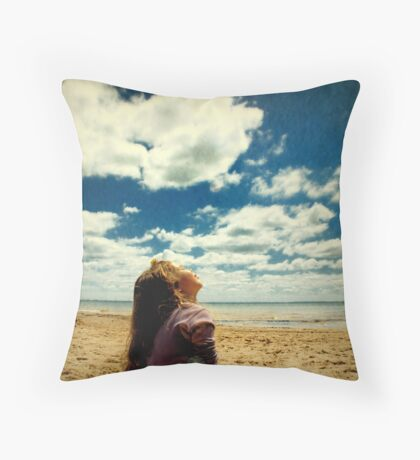 Bask Throw Pillow