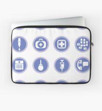 medical icons Laptop Sleeve