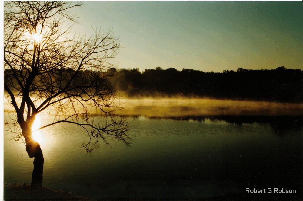 Pretoria Sunrise by Robert G Robson