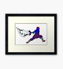 Shaolin-Bot Gerahmtes Wandbild