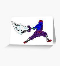 Shaolin-Bot Grußkarte