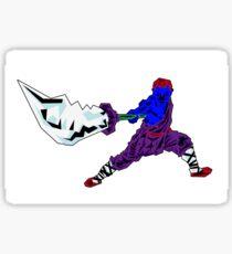 Shaolin-Bot Sticker