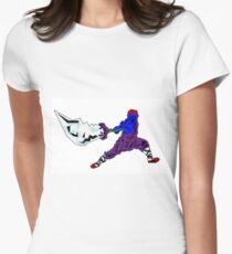 Shaolin-Bot Tailliertes T-Shirt für Frauen