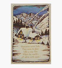 Vintage Card  #7 Photographic Print