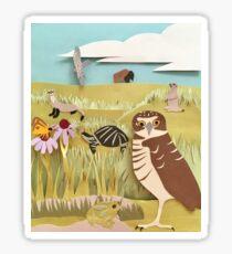 Threatened Prairie Species Sticker