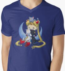 Crazy Moon Cat Lady T-Shirt