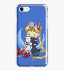 Crazy Moon Cat Lady iPhone Case/Skin