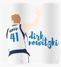 Dirk Nowitzki Poster