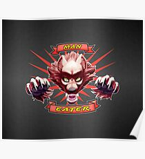 Man-Eater Werewolf Poster