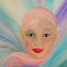 Bald is Beauty with GREEN Eyes by EloiseArt