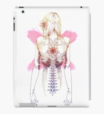 Cyborg Girl Spine (pink) iPad Case/Skin
