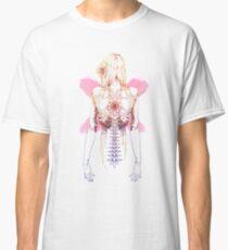 Cyborg Girl Spine (pink) Classic T-Shirt