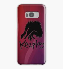 Kazplay Logo Samsung Galaxy Case/Skin