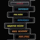 Stack of Atari 2600 by SynthOverlord