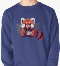 Red Panda Eating Ramen Pullover