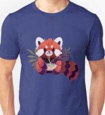 Red Panda Eating Ramen Unisex T-Shirt