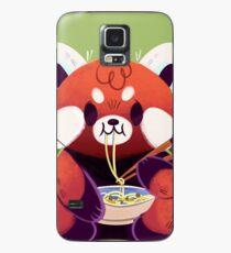 Red Panda Eating Ramen Case/Skin for Samsung Galaxy