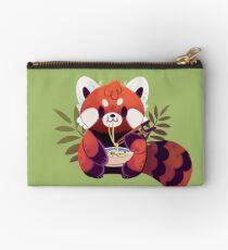 Red Panda Eating Ramen Studio Pouch
