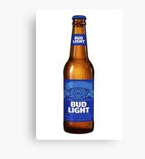 Bud Light Beer Canvas Print