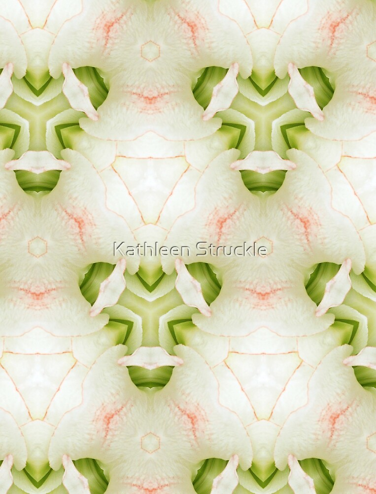 Spring Abstract  by Kathleen Struckle